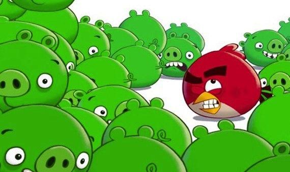 ¿Nos espían a través de Angry Birds?