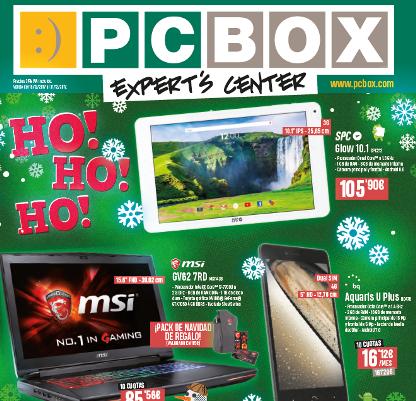 catálogo PCBOX Navidad 2017