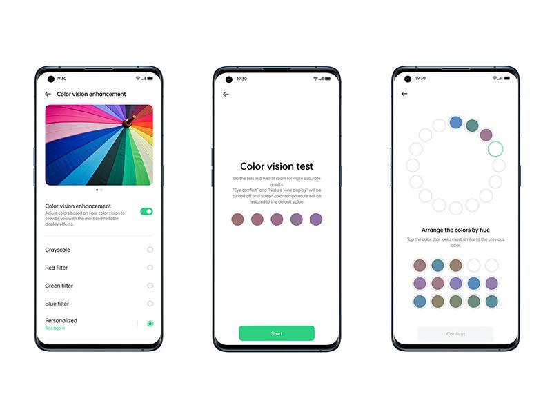 El móvil de alta gama de Oppo muestra 1.000 millones de colores