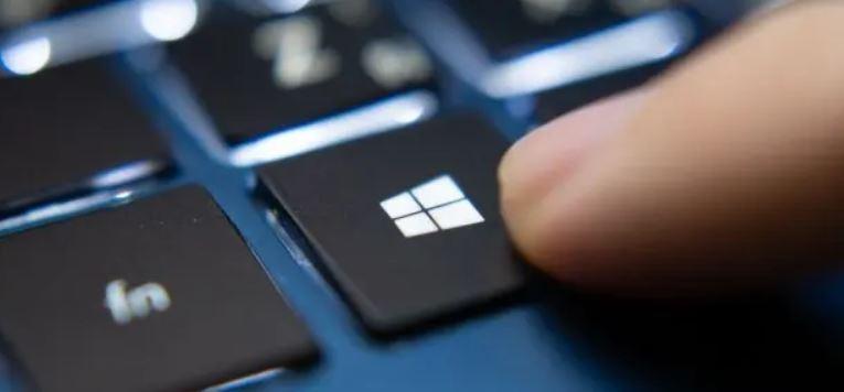 La tecla de Windows lleva el logotipo de Windows