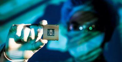 CPU en un laboratorio