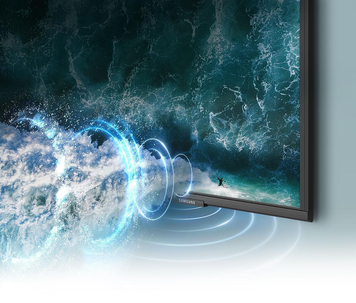 El sonido de Samsung QLED 4K es envolvente
