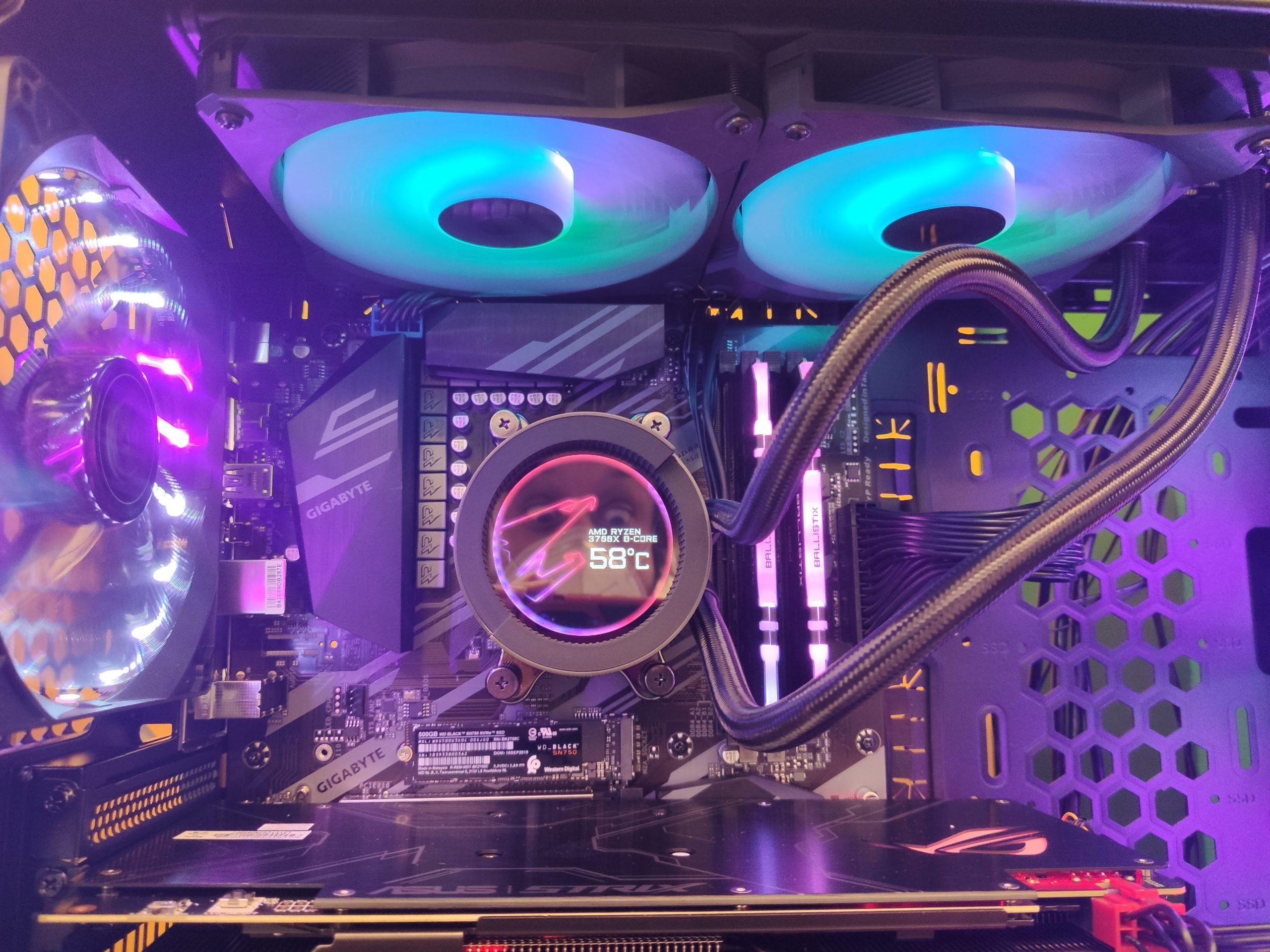 Torre AMD Ryzen 7 3700X, en PCBox Huesca