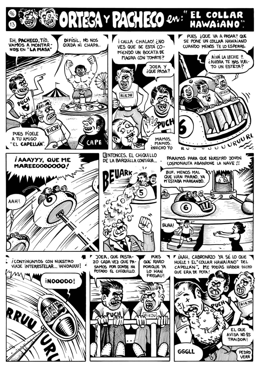 Página de Ortega y Pacheco publicada en 'La Opinión de Murcia'