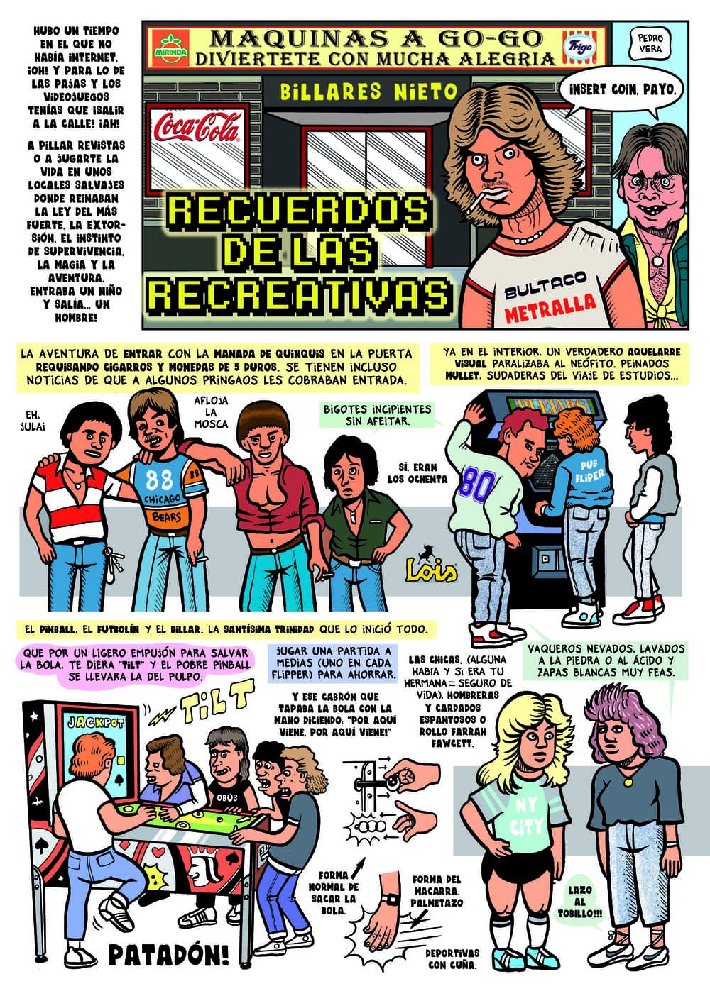 #ranciofacts sobre las máquinas recreativas de los años 80