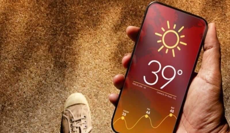 La exposición directa al sol calienta el smartphone